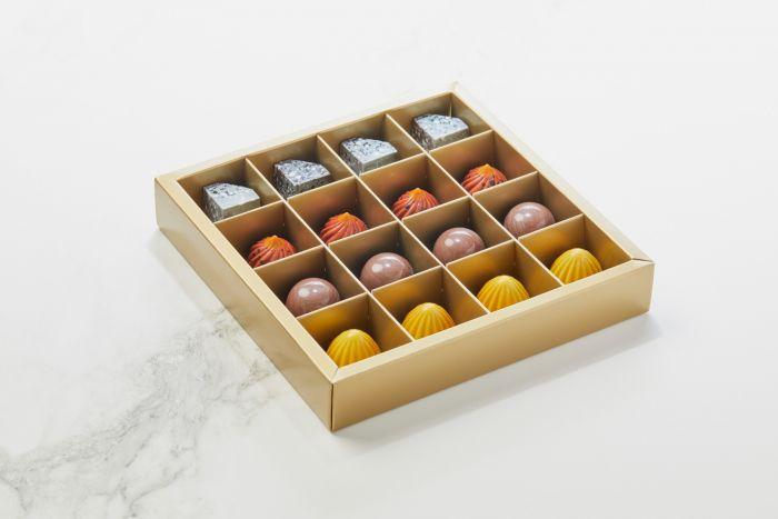 Fyldte Chokolader 16 stk - æske S1