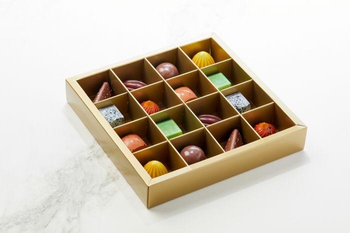 Fyldte Chokolader 16stk - Æske S2