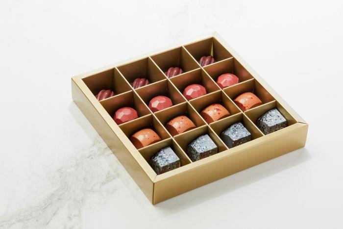 Fyldte Chokolader 16stk - Æske S3