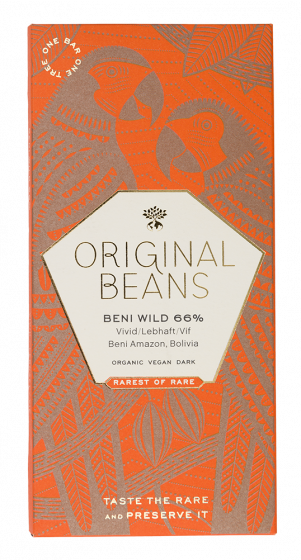 Beni Wild Harvest 66% (EU organic) 70g
