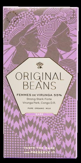 Femmes de Virunga 55% (EU organic) - 70g