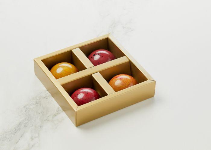 Mark Hermann Chocolate Jordbærflødebolle Æbleflødebolle