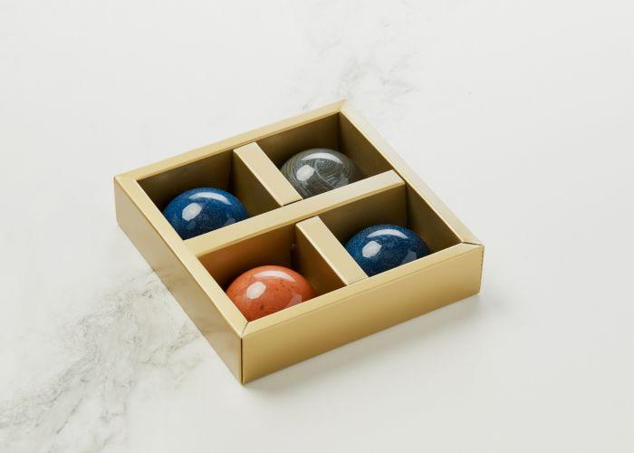 Mark Hermann Chocolate Vaniljeflødeboller Lakridsflødebolle Karamelflødebolle
