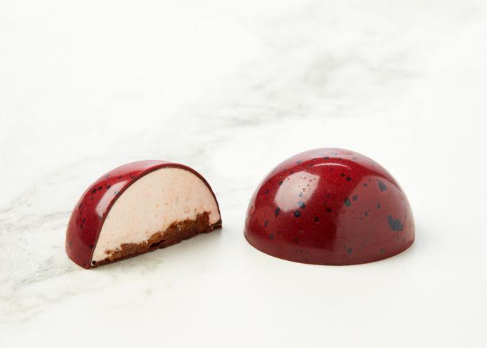 Jordbærflødebolle