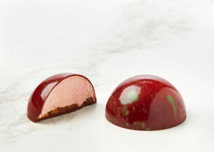 Hindbærflødebolle