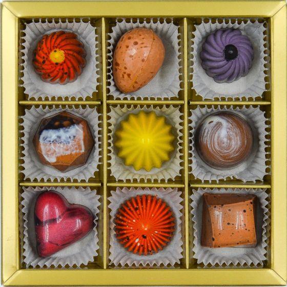 Fyldte Chokolader 9 stk - Æske 2