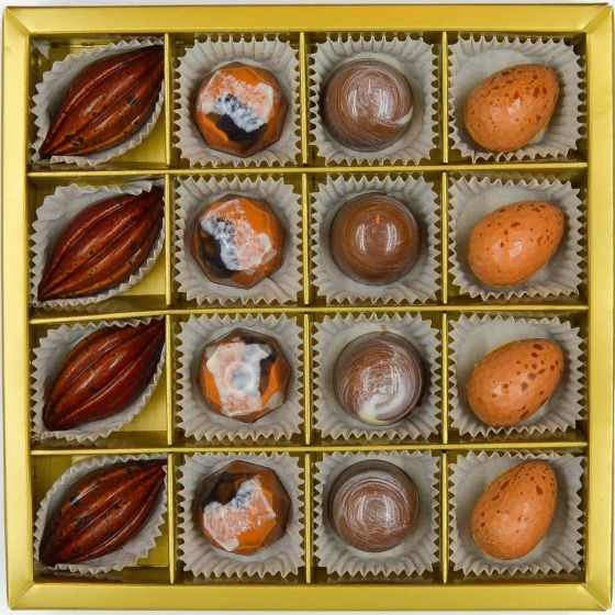 Fyldte Chokolader 16 stk Æske 1