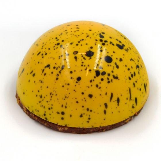 Ananas/vanilje halvmåne - 2 stk