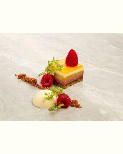 Dessertæske 2 personer - Pistacie/hindbær (EU organic)