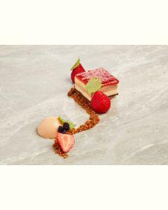 Dessertæske 2 personer - Jordbær/rabarber (EU organic)