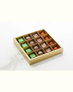 Fyldte Chokolader 16stk - Æske S4