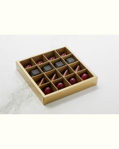 Fyldte Chokolader 16stk - Æske S6