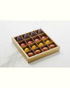 Fyldte Chokolader 16stk - Æske S7