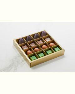 Fyldte Chokolader 16stk - Æske S8