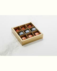 Fyldte Chokolader 9stk - Æske S1