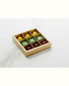 Fyldte Chokolader 9stk - Æske S2