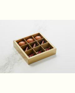 Fyldte Chokolader 9stk - Æske S3