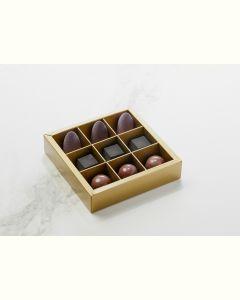 Fyldte Chokolader 9stk - Æske S5