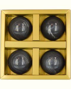 Lakrids flødeboller 4 stk