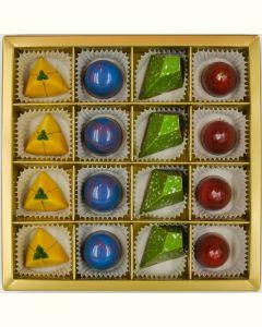 Fyldte Chokolader 16stk - Æske 5