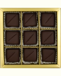 Chokoladeflødekarameller  9 stk (EU organic)