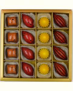 Fyldte Chokolader 16stk - Æske 6