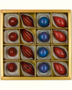 Fyldte Chokolader 16stk - Æske 7