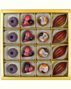 Fyldte Chokolader 16 stk - Æske 3