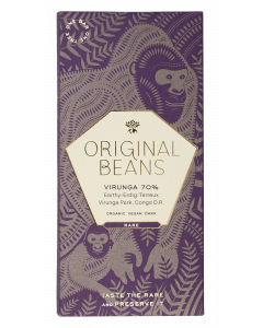 Cru Virunga 70%  (EU organic) - 70g