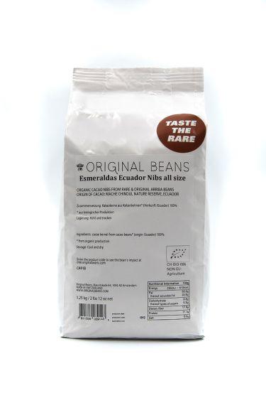 Kakaonibs, Esmeraldas (EU organic) - 300g